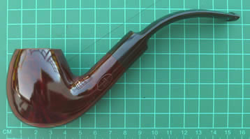 Dunhill Pipe Bruyere Group 5 5213 Bent Apple