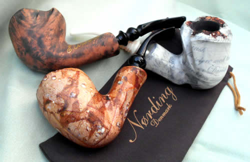 Nording Harmony quality briar pipes
