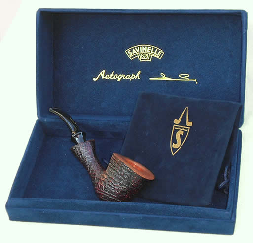 Completely handmade, unique and unrepeatable pipe - Savinelli Autograph