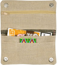 Jute Roll Your Own pouch