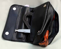 Extra zip pocket, extra slot compartment