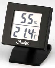 Stand-up digital hygrometer