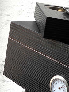 Black, Tactile-Deco surface