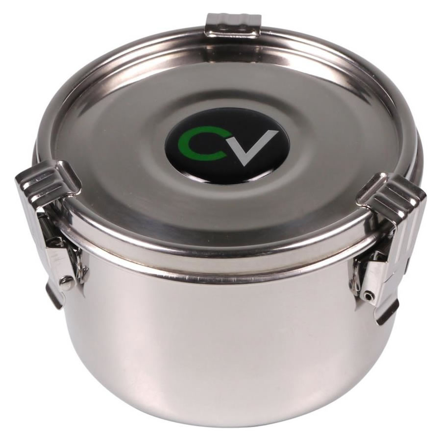 CV Premium Stainless Steel airtight storage canister