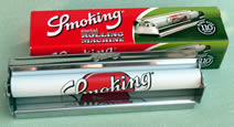 Smoking RYO Rolling Machine, Kingsize, with paper carrier